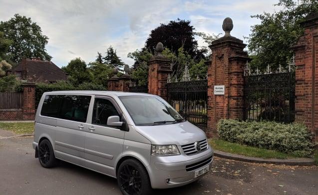 VW T5 caravelle executive MPV 2 berth camper van