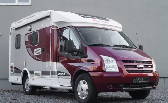 Dethleffs Jubivan 2.2D Summer Edition – Comfortabele en compacte 2-persoons camper