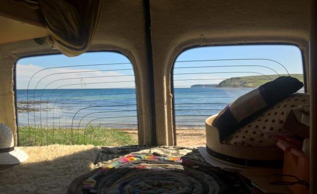 Cowal Camper – Renault Camper op de Cowal Way