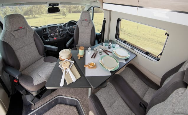 2019 2 Berth Campervan Complete with everything you'll need