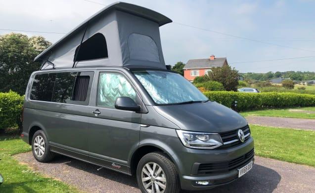 Bertie – 4 Schlafplätze VW Transporter T6