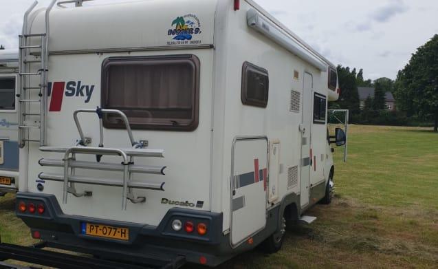 Camper Sky  –  FIAT DUCATO SKY ALKOOF, IDEAAL VOOR GEZIN MET KINDEREN