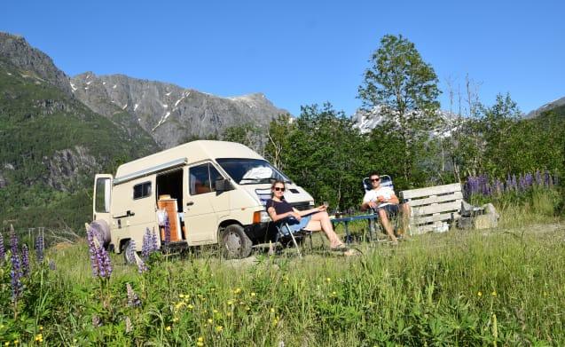 Nice & cozy bus camper