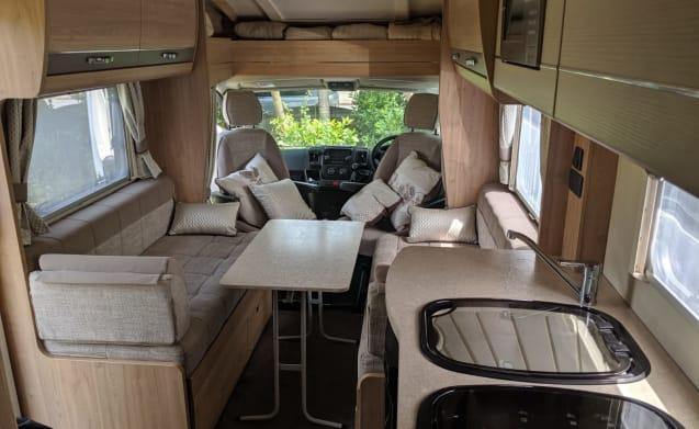 4 Berth Luxury camping Goodwood edition 2016