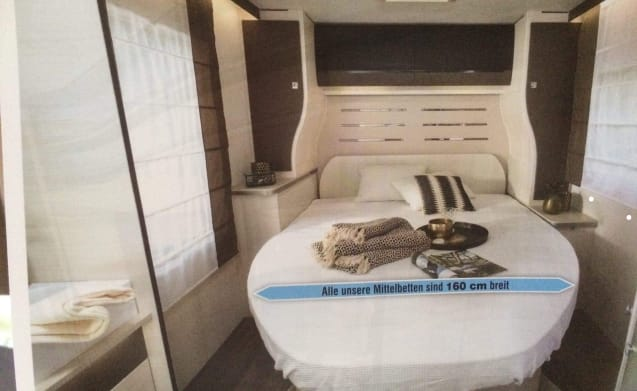 Camper for rent for 4 people driving license C