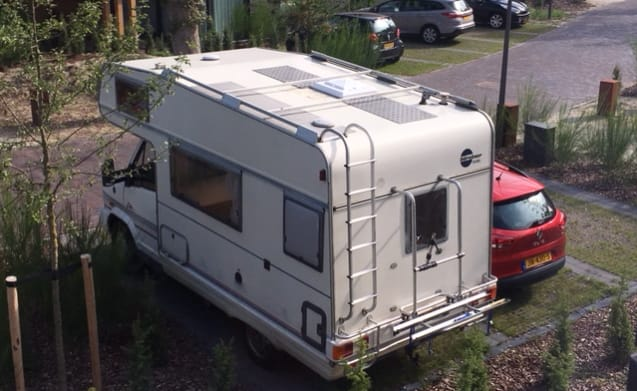 Compact, affordable family camper