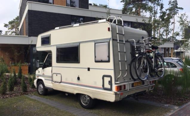 Compacte, betaalbare familiecamper