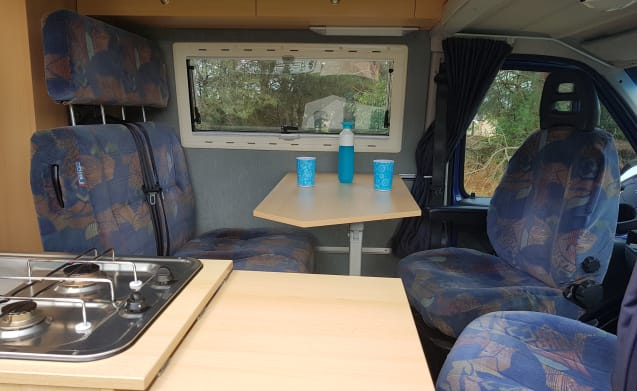 Trentino – Compact multifunctional 4 person bus camper