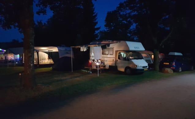 Extremely user-friendly neat camper. Scherpenzeel