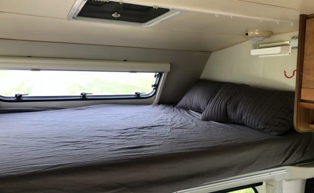 5-person camper - Mileage free
