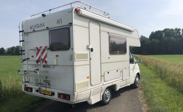 Camper per 5 persone - Chilometraggio gratuito