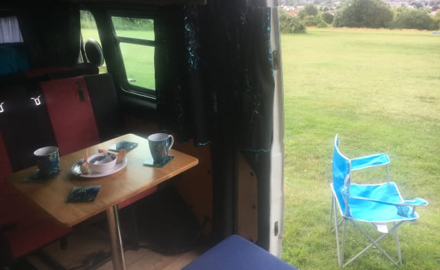 A beautiful self-converted campervan.  Ideal for summer and winter hires