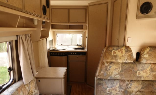 Very neat (air conditioning) and complete camper