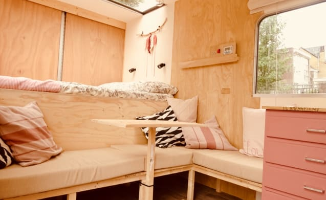 Slow Down Camper – Cool and unique 3-person Mercedes camper (our house on wheels)