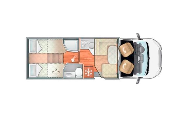 New motorhome (2019!) 5 people!