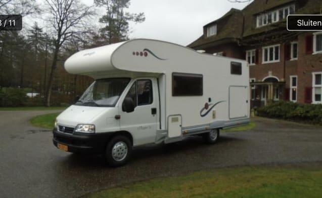 Clipper 50 – Complete spacious camper for family