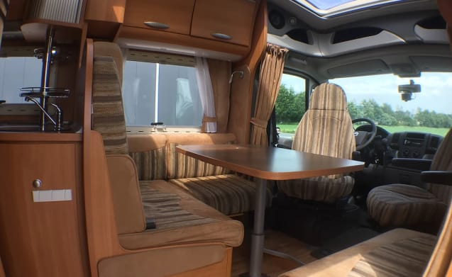 Chausson Allegro 94 – Fiat Ducato 2300, 160 PK, Chausson Allegro 94, 4/Persoons, 2x Airco!!