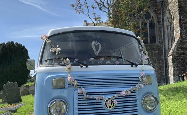 Wil je modern gemak EN een vintage VW T2-flair? Ontmoet Doreen!