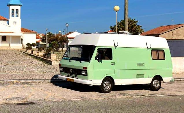 "Samba – ""Sambabus"" Volkswagen LT 28 verde menta"