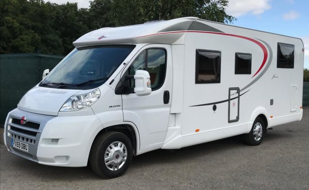 """Billy Burstner"" – Great value immaculate 3 berth motorhome"