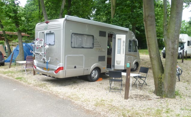 Hymer B654SL Gold Edition