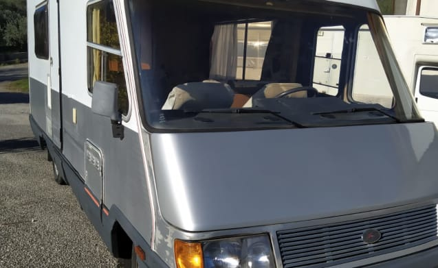 Globo – Motorhome Laika 57s 2.5 td robust and reliable