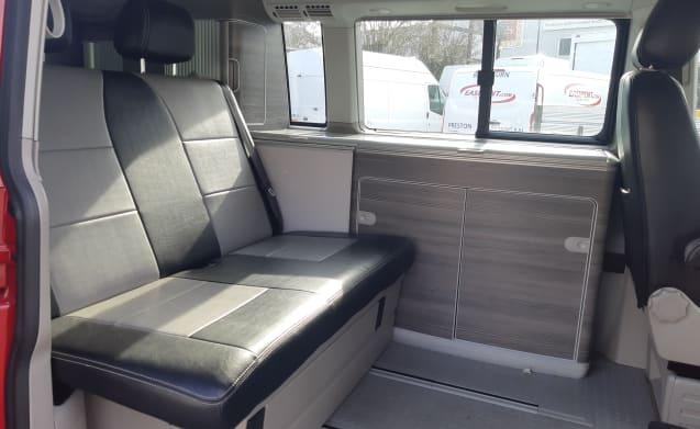 6 berth Ford Zefiro – Volkswagen T6 California Automatic (Aberdeen)