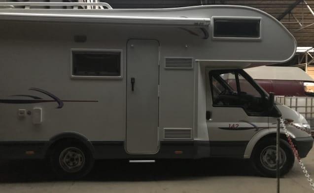 Familie camper 6 bedden