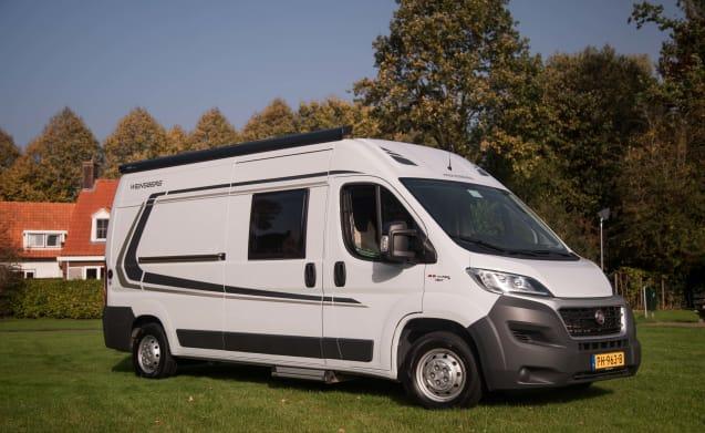 SC3 sportieve 3 persoons camperbus 9987 – Camper sportivo SC3 per 3 persone 9987