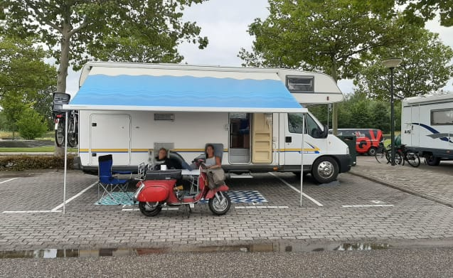 Bounty – A winter-proof family motorhome for 6 people!
