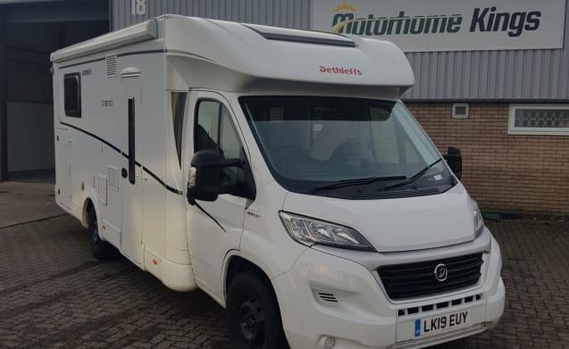 Luxury 4 berth 2019 Motorhome