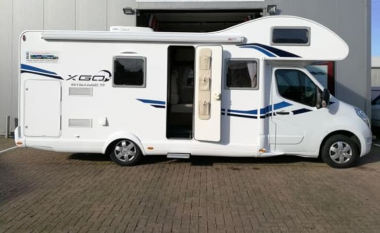 G-type – Spacious luxury camper with real possible extras