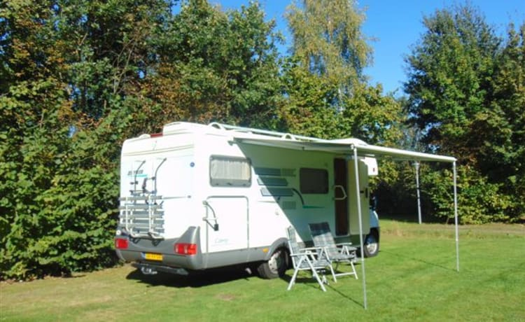 `onze trots` – Pretty neat and comfortable 6 seater Hymer