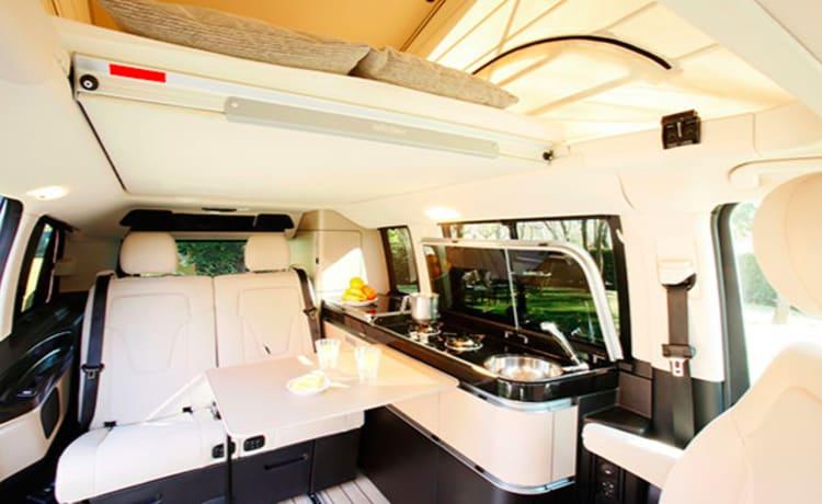 Marco Polo – Mercedes Marco Polo: dé luxecamper om te reizen in comfort