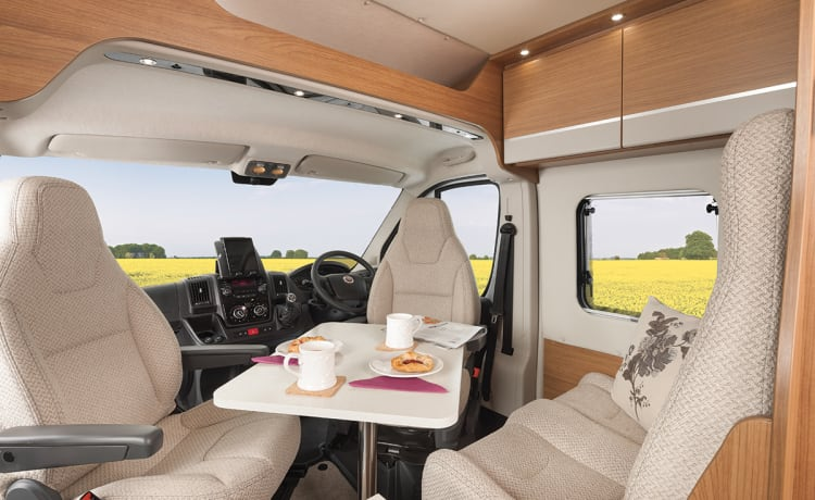 Vehicle 2 – New for 2021 Tribute 669 campervan