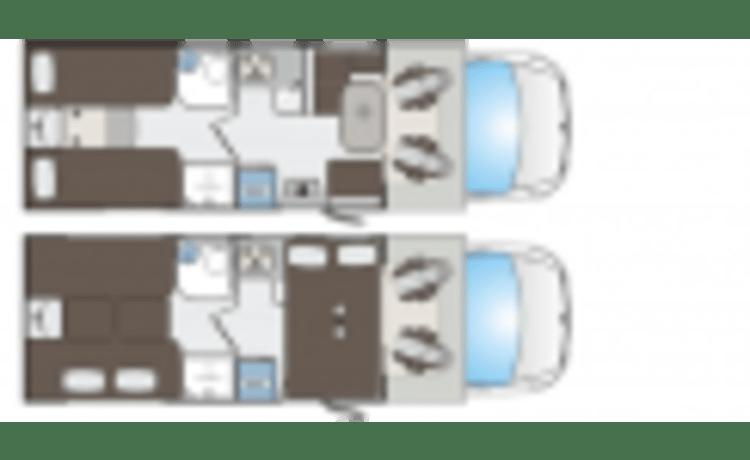 KATAMARANO – NUOVO! Spaziose e confortevoli (2021)