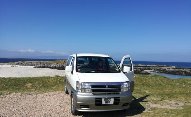Kiwi  – Unieke Japanse 4X4 campervan