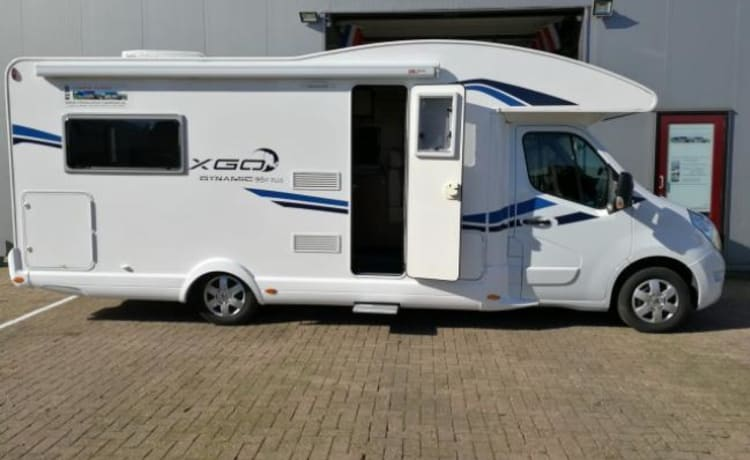 B-type – Luxury winter sports - winter camper 200 free extras