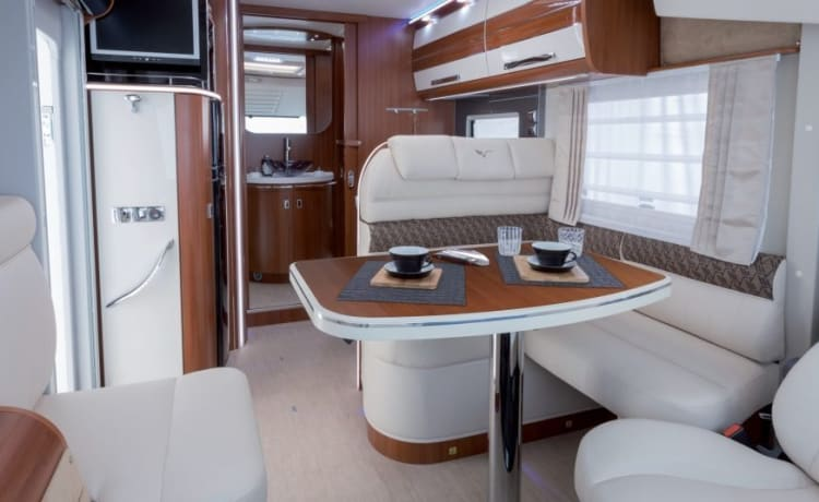 Most luxurious VIP integral camper