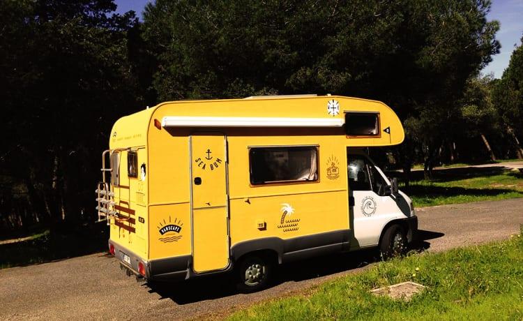 Nazaré – Divertimento camper nel soleggiato Portogallo (Situato in Portogallo)