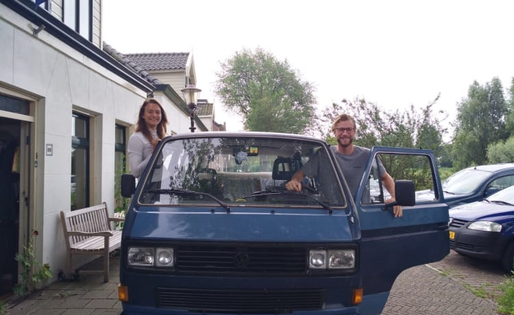 Goofy  – Pippo - Volkswagen T3 Caravelle affitto di bilancio