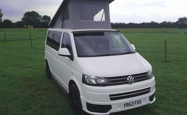 Harry – VW T5 Nuova conversione con pop top