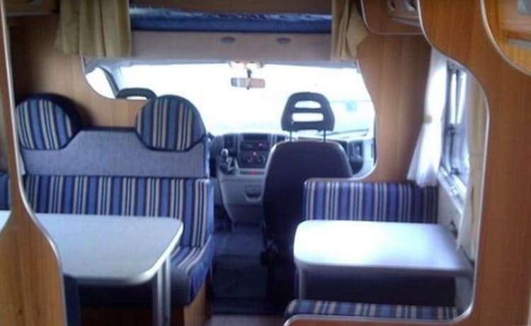 Mclouisje – Fiat Ducato with strong turbodiesel engine
