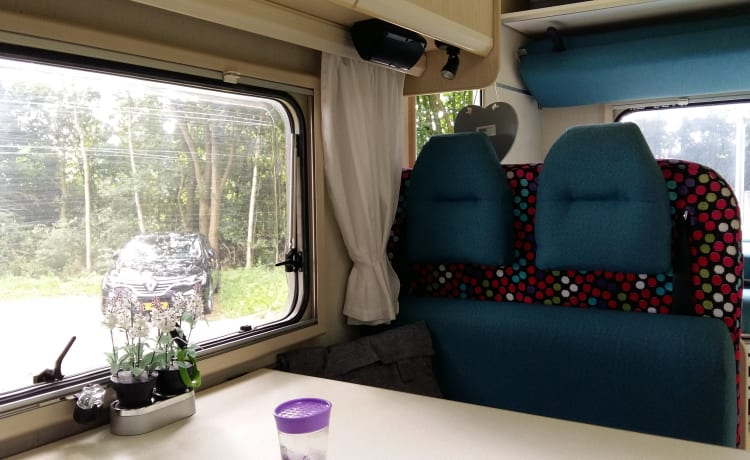 Extremely user-friendly neat camper. Scherpenzeel
