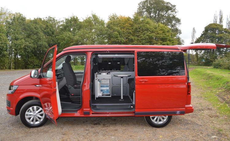 Delilah – 4 Berth VW Transporter T6