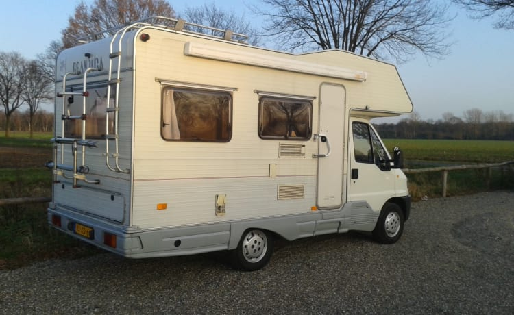 Nice Fiat Ducato for a wonderful holiday