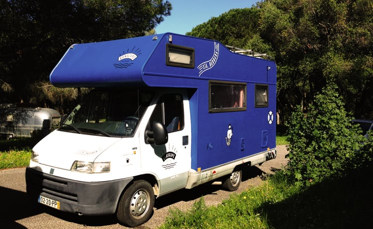 Santa Bárbara – Awesome camper in sunny Portugal (Located in Portugal)