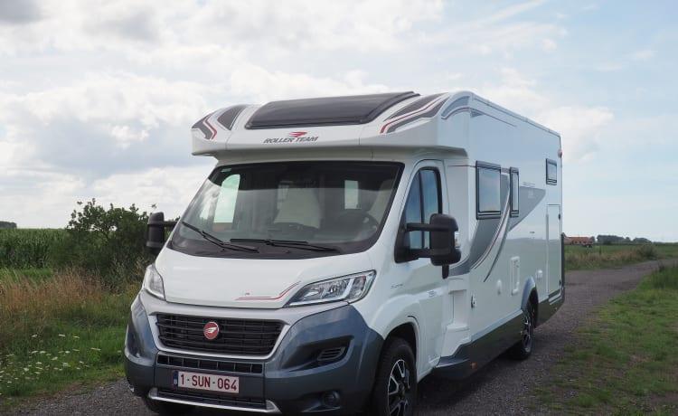 Mobilhome Fiat Granduca for rent - 4 people