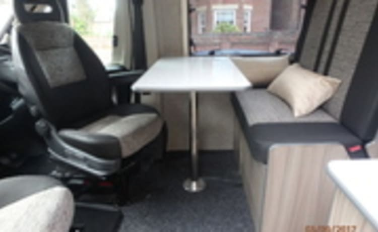 Bespoke two berth Campevan available for UK and EU travel.