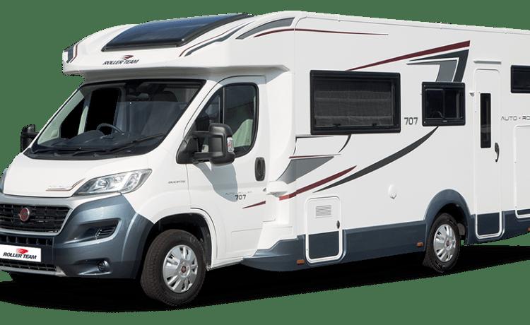 Luxe 2018 5 Berth Family Camper Huur
